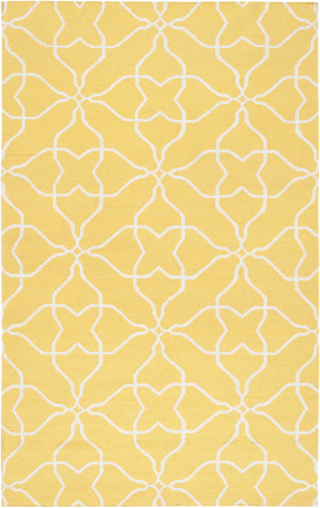 Surya Frontier Ft-232 Sunshine Yellow Area Rug Clearance| Size| 6'' Returnable Sample Swatch - 73240x7