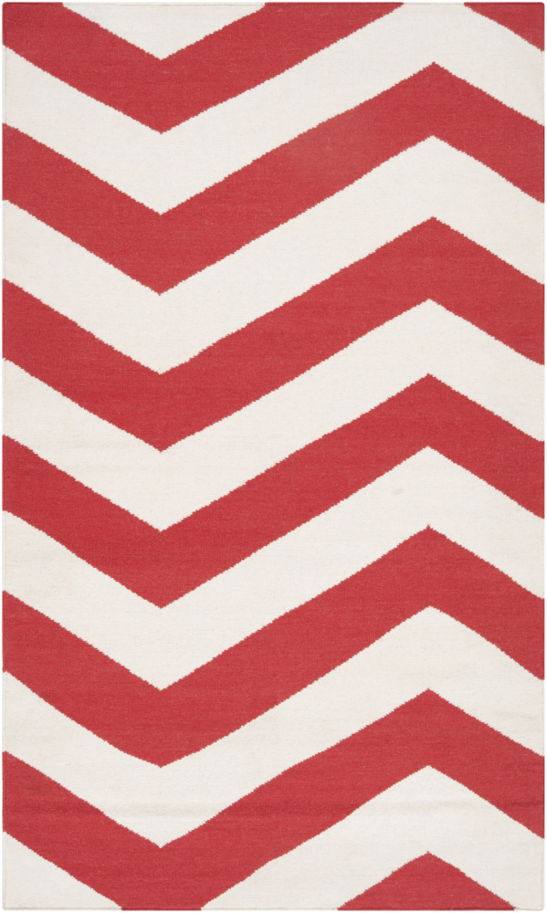 Surya Frontier Ft-274 Orange-Red Area Rug Clearance| Size| 6'' Returnable Sample Swatch - 73247x7