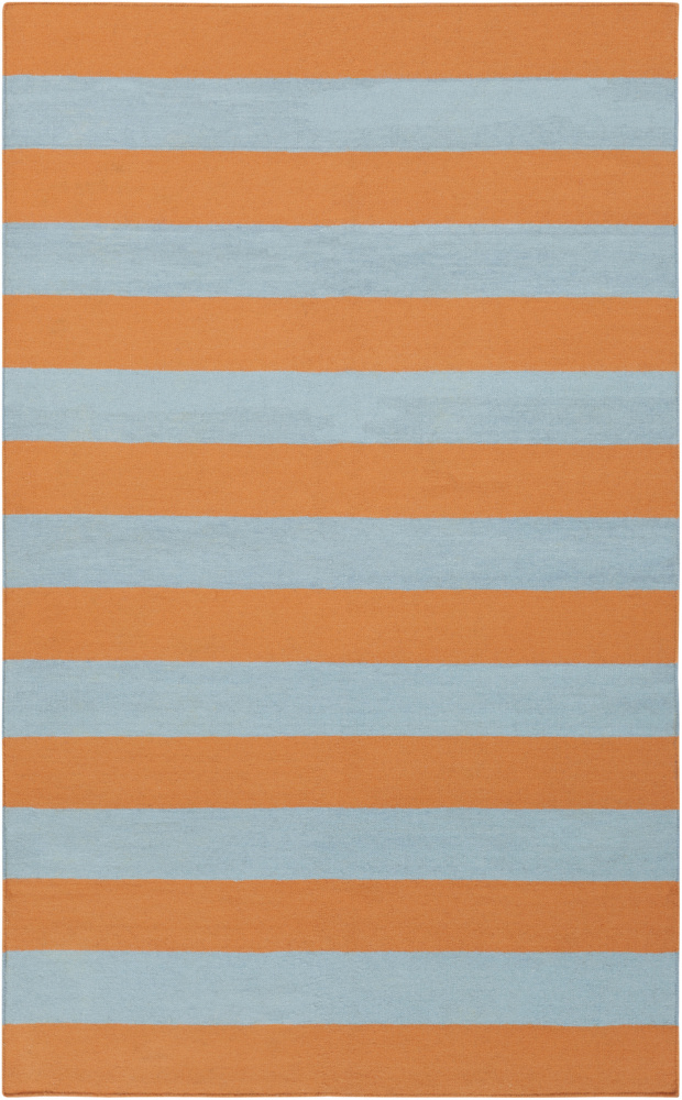 Surya Frontier FT-293 Robins Egg Blue Area Rug Clearance| Size| 6'' Returnable Sample Swatch - 74147x7
