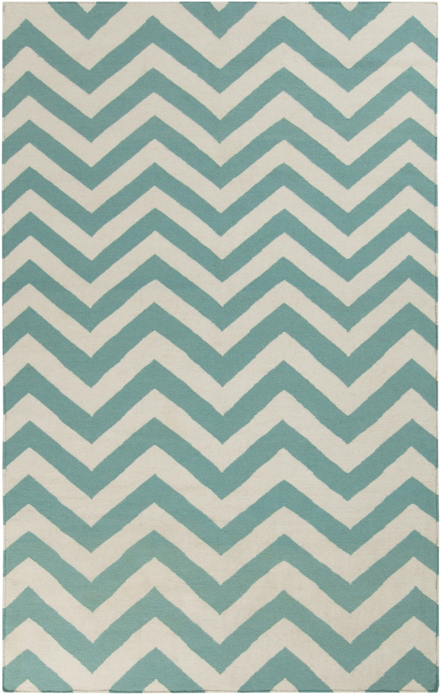 Surya Frontier FT-454 Sea Blue Area Rug Clearance| Size| 3'6'' x 5'6'' - 88367x4