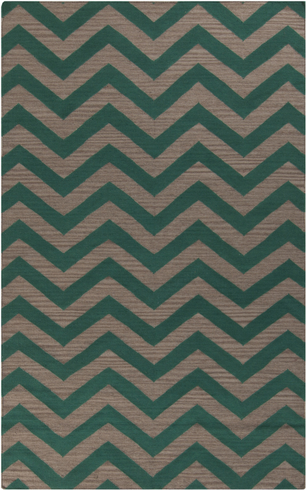 Surya Frontier FT-536 Emerald Green Area Rug Clearance| Size| 2' x 3' - 88448x2