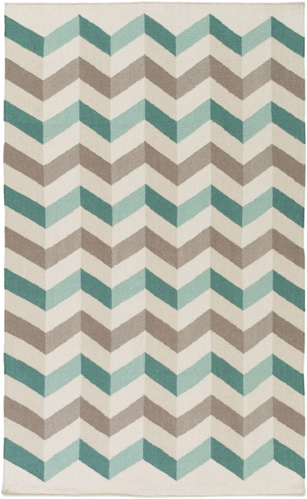Surya Frontier Ft-608 Teal Area Rug Clearance| Size| 2' x 3' - 111205x1