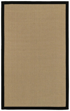 Surya Natural Living Soho Black Area Rug Clearance| Size| 2' X 3' - 20115x1