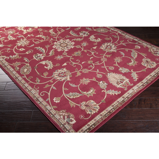 Surya Riley RLY-5024 Cantaloupe Area Rug| Size| 18'' Returnable Sample Swatch - 65718x8