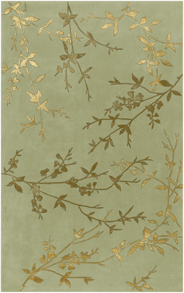 Surya Tamira Tam-1001 Moss Area Rug| Size| 1'6''X1'6'' Returnable Sample Swatch - 25929x7