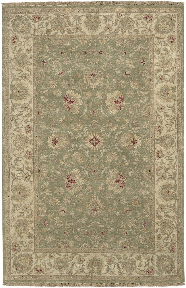 Surya Timeless Tim-7902 Powder Blue Area Rug Clearance| Size| 5' 6'' X 8' 6'' - 22553x3