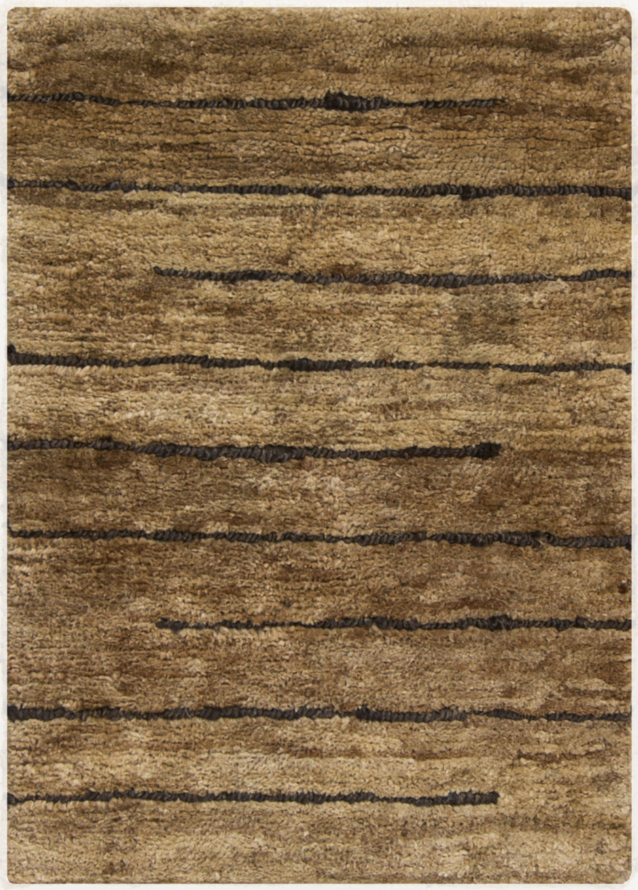 Surya Trinidad TND-1142 Black - Taupe Area Rug Clearance| Size| 2'6''x8' Runner - 107114x2