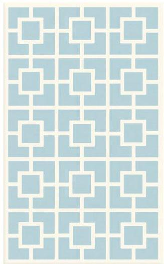 The Rug Market America Kids Labyryith 11519 Blue-white Area Rug| Size| 2.8X4.8 - 52932X1