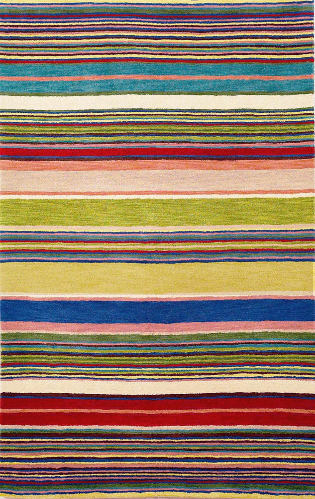 Trans-Ocean Inca Stripes Red 9441-24 Area Rug| Size| 27''x8' Runner - 102216x1