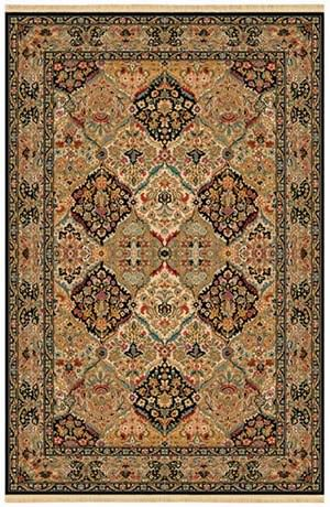 Karastan Original Empress Kirman Black 724 Area Rug