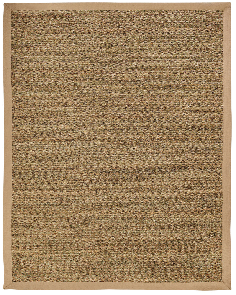 Anji Mountain Seagrass Sabertooth Area Rug| Size| 10' X 14' with 5cm border - 69732x8