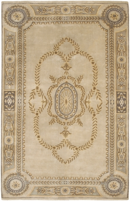 Rugstudio Famous Maker 39305 Beige Area Rug Last Chance| Size| 2' X 3' - 39305x1