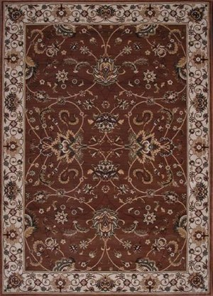 Rugstudio Famous Maker 39142 Chocolate Area Rug Last Chance