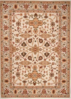 Rugstudio Famous Maker 39139 Ivory Area Rug Last Chance - 39139