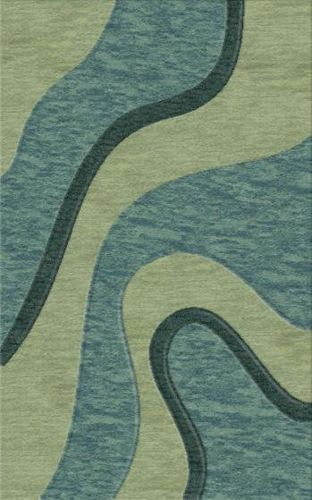 Rugstudio Riley DL16 Seaglass-Sky-Teal Area Rug - 37379