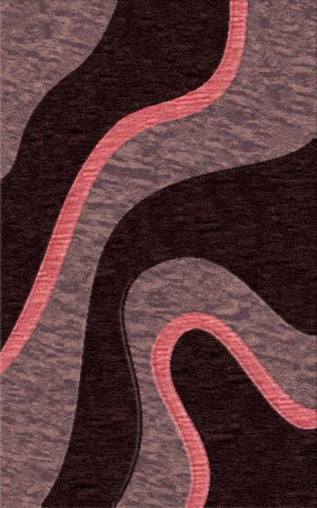Rugstudio Riley DL16 Violet-Grape-Bubblishous Area Rug