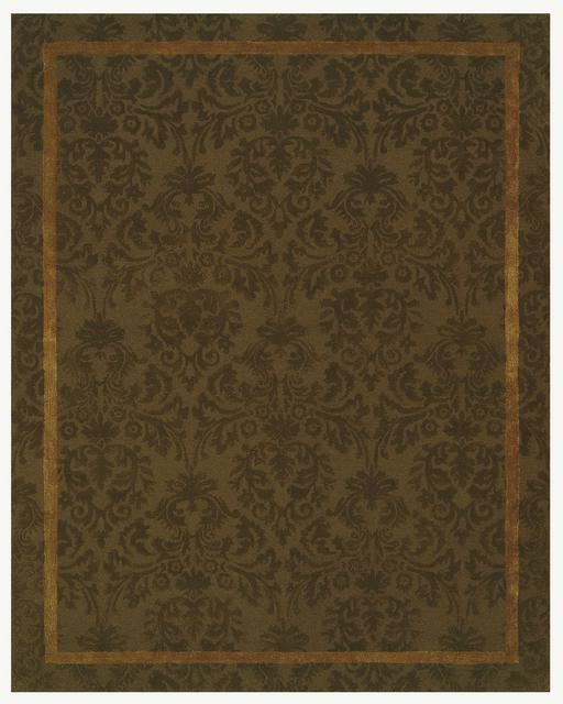 Rugstudio Famous Maker 39703 Chocolate Area Rug Last Chance