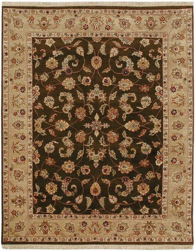 Rugstudio Famous Maker 39513 Cocoa Brown-Sand Area Rug Last Chance