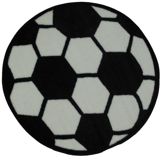Fun Rugs Fun Time Shape Soccerball FTS-007 Multi Area Rug| Size| 39'' Round - 42685x1