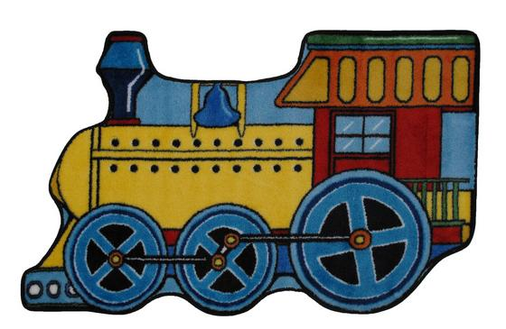 Fun Rugs Fun Time Shape Train FTS-133 Multi Area Rug