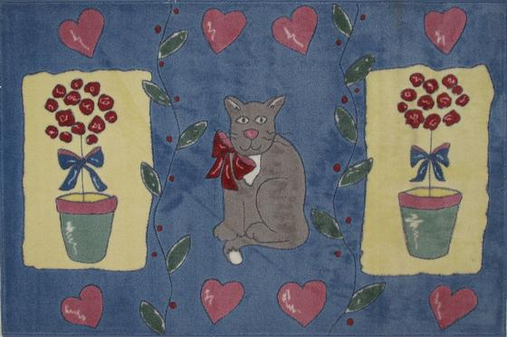 Fun Rugs Jade Reynolds Cat  Pot JR-TSC-155 Multi Area Rug