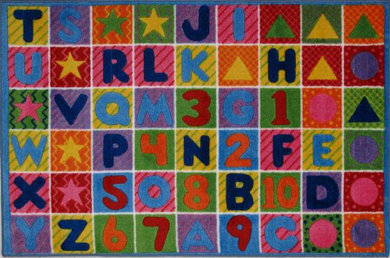 Fun Rugs Supreme Numbers  Letters TSC-137 Multi Area Rug