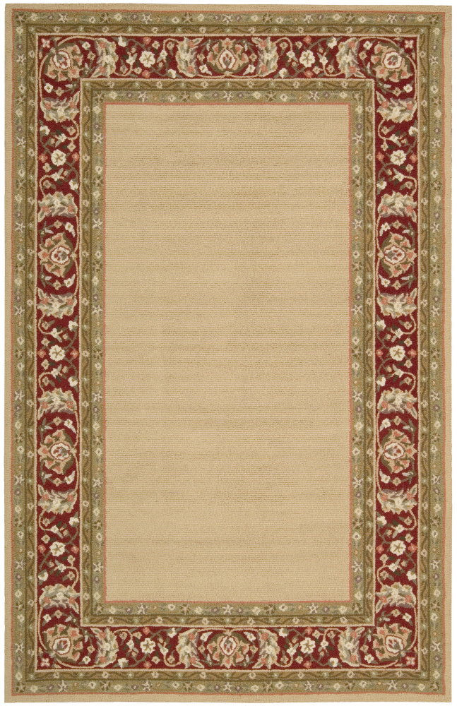 Nourison Country Heritage H-801 Gold Area Rug Clearance| Size| 1' 9'' X 2' 9'' - 23016x1