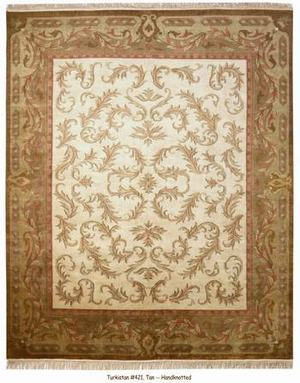 ORG Turkistan 421 Tan Area Rug Last Chance - 136996