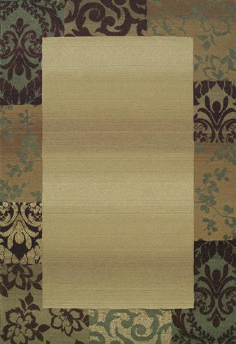 Oriental Weavers Genesis 2060Y 0Y Area Rug| Size| 18'' Returnable Sample Swatch - 25063x13