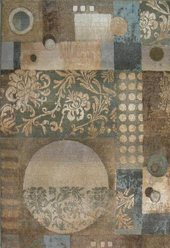 Oriental Weavers Genesis 511Z1 Z1 Area Rug| Size| 18'' Returnable Sample Swatch - 25066x13