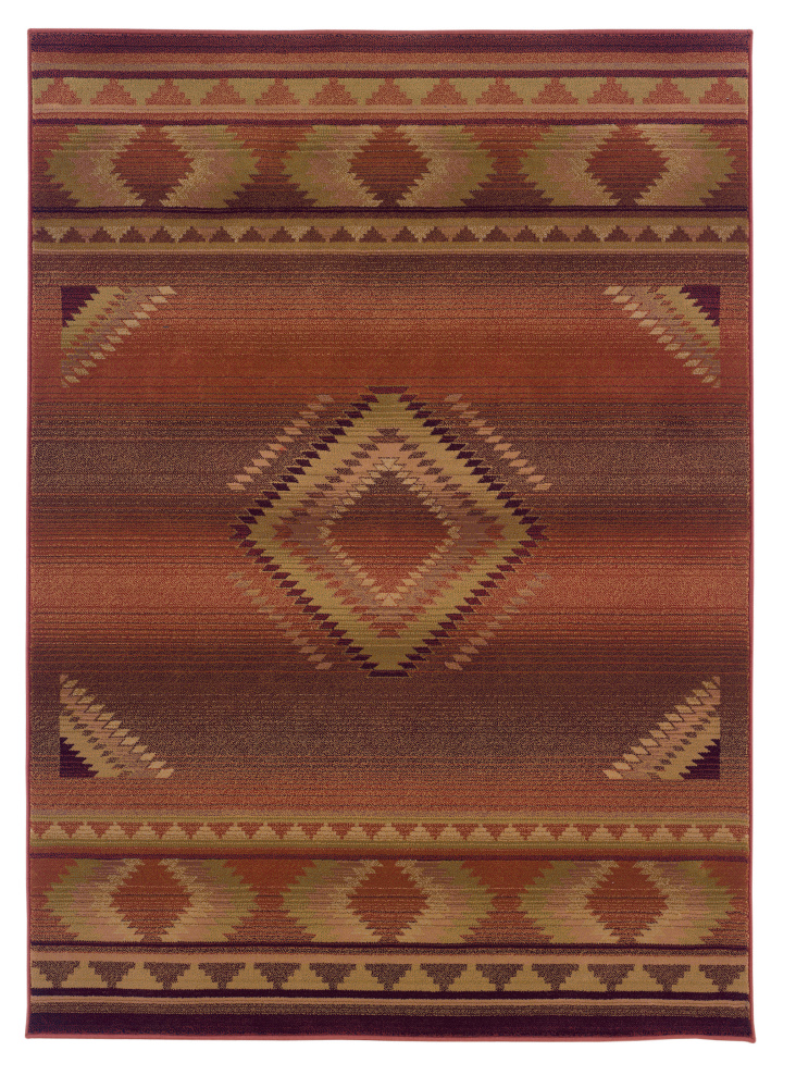 Oriental Weavers Generations 1506C Area Rug| Size| 2' X 3' with Free Pad - 25254x6