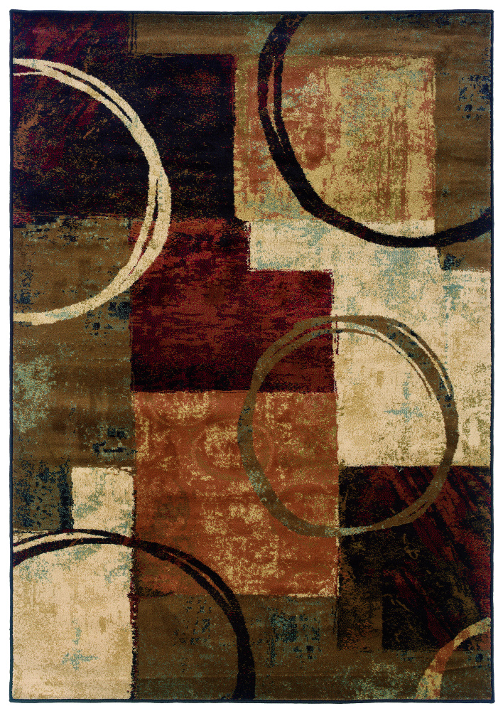 Oriental Weavers Hansen 2544b Area Rug| Size| 1'10'' X 3'3'' with Free Pad - 58162x1