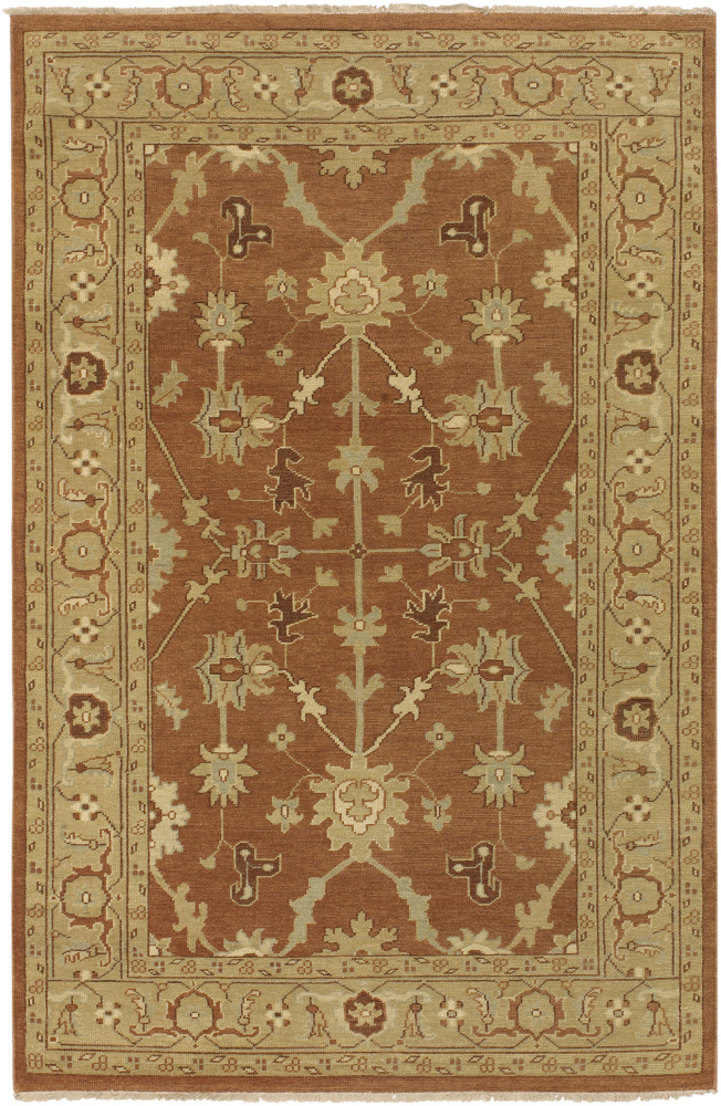 Surya Ainsley AIN-1002 Rust Brown Area Rug Clearance| Size| 2' 6'' X 8' Runner - 28009x2