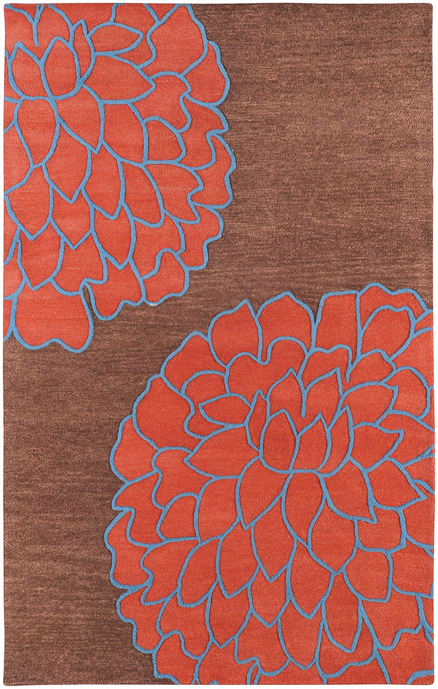 Surya Artist Studio ART-206 Chocolate Area Rug Clearance| Size| 3' 3'' X 5' 3'' - 28019x2
