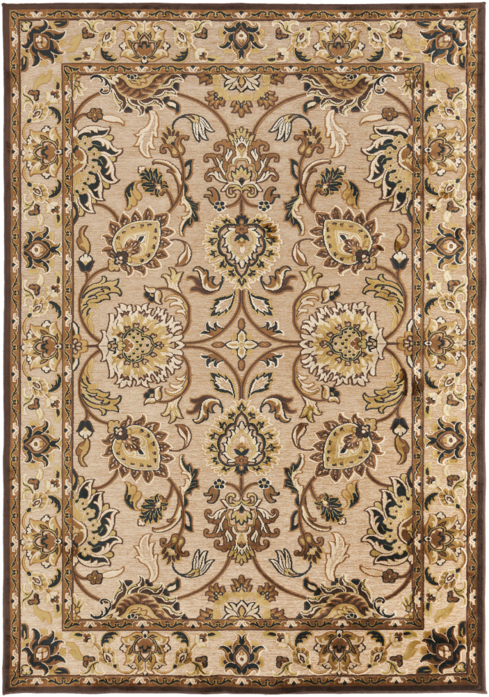 Surya Basilica BSL-7209 Feather Gray Area Rug| Size| 2'2'' x 3' - 87989x2