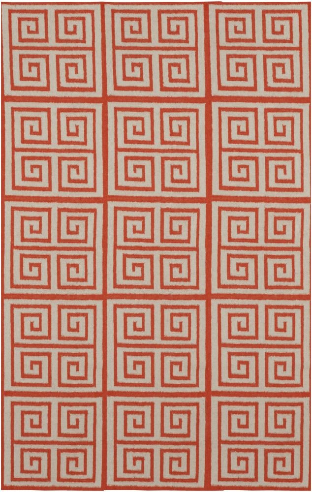 Surya Frontier FT-417 Poppy Red Area Rug Clearance| Size| 6'' Returnable Sample Swatch - 88350x6