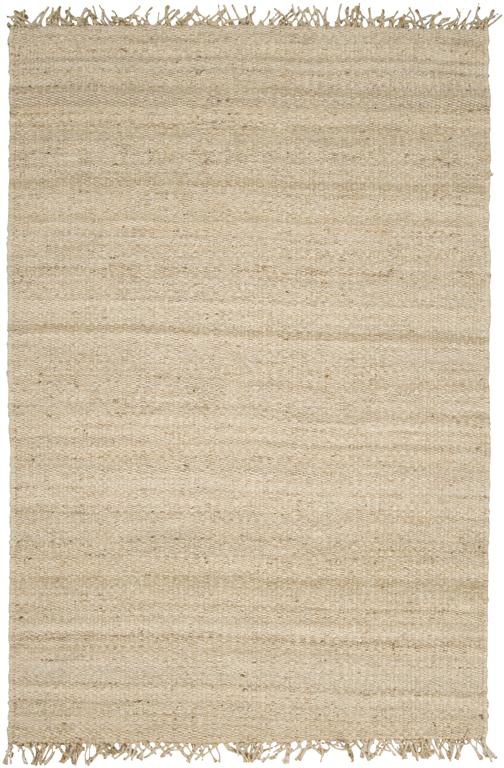 Surya Natural Living JUTE BLEACH Area Rug| Size| 18'' Returnable Sample Swatch - 34175x10