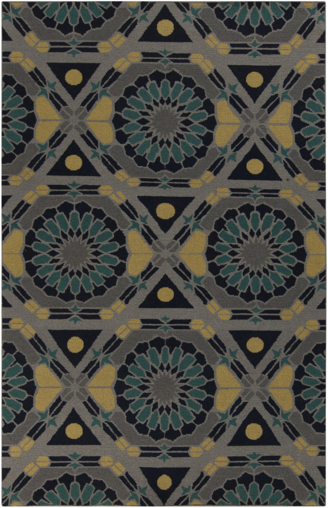 Surya Kaleidoscope KAL-8005 Flint Gray Area Rug Clearance| Size| 18'' Returnable Sample Swatch - 88528x1
