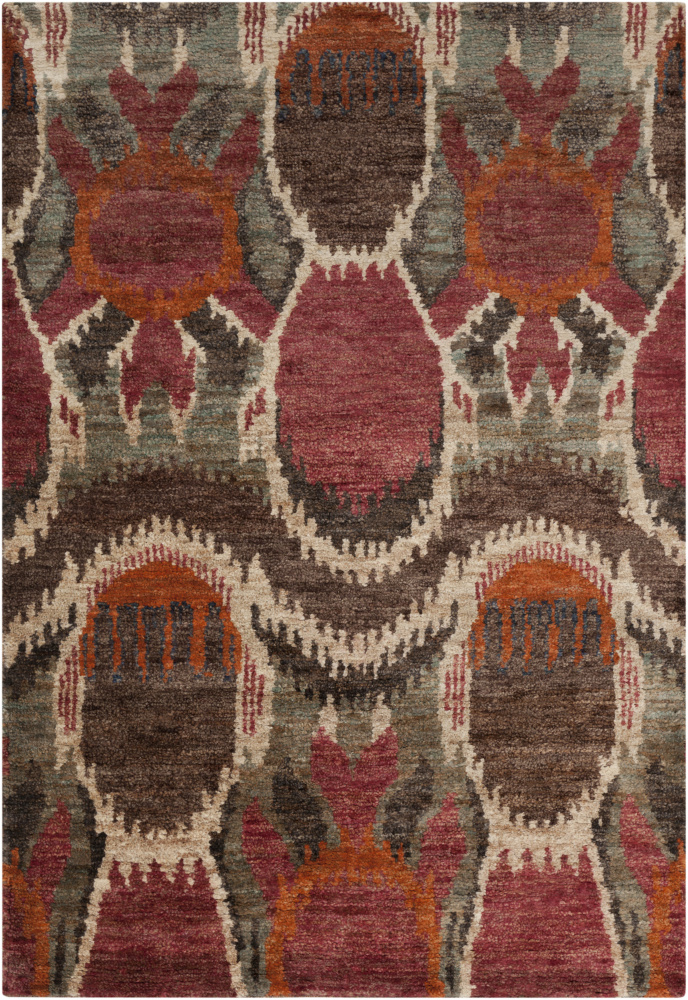 Surya Scarborough SCR-5130 Venetian Red Area Rug| Size| 2' x 3' - 74269x1