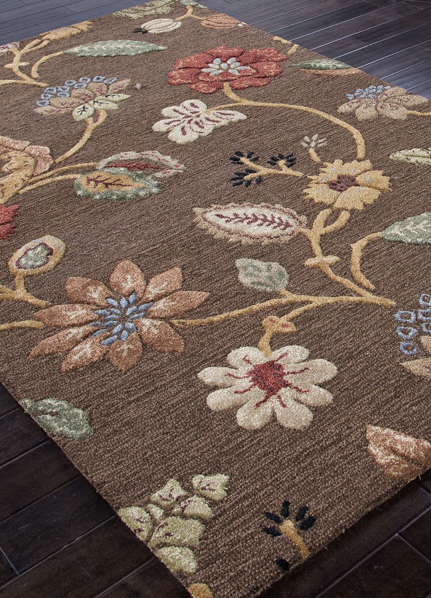 Addison And Banks Hand Tufted Abr0075 Cocoa Brown Area Rug - 82053