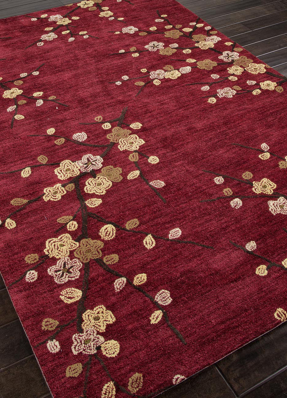Addison And Banks Hand Tufted Abr0139 Red Area Rug Clearance - 82117