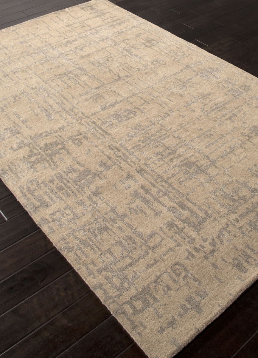 Addison And Banks Hand Tufted Abr0885 Linen