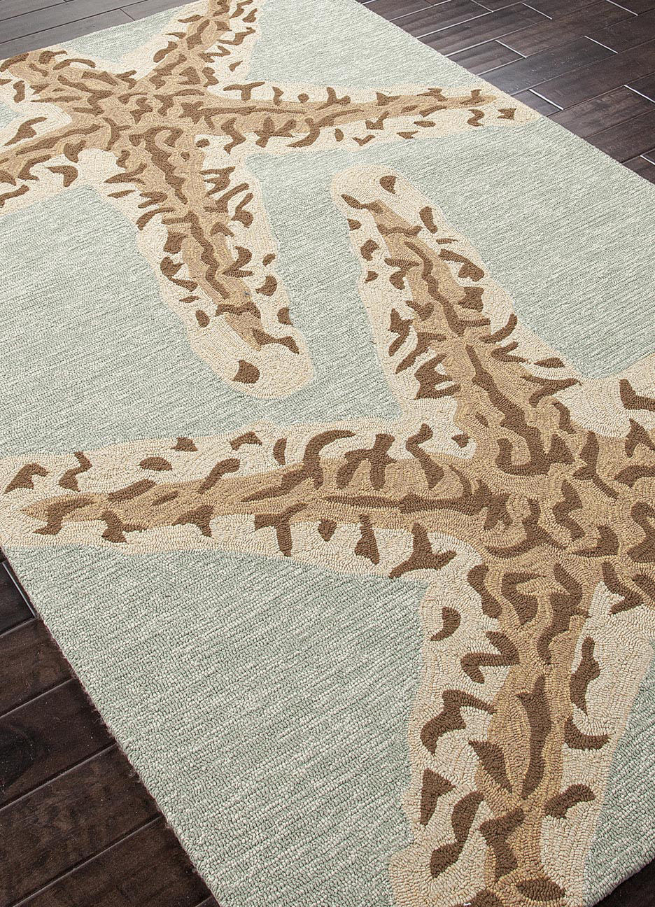 Addison And Banks Hand Hooked Abr0383 Silver Lake Blue Area Rug - 82029