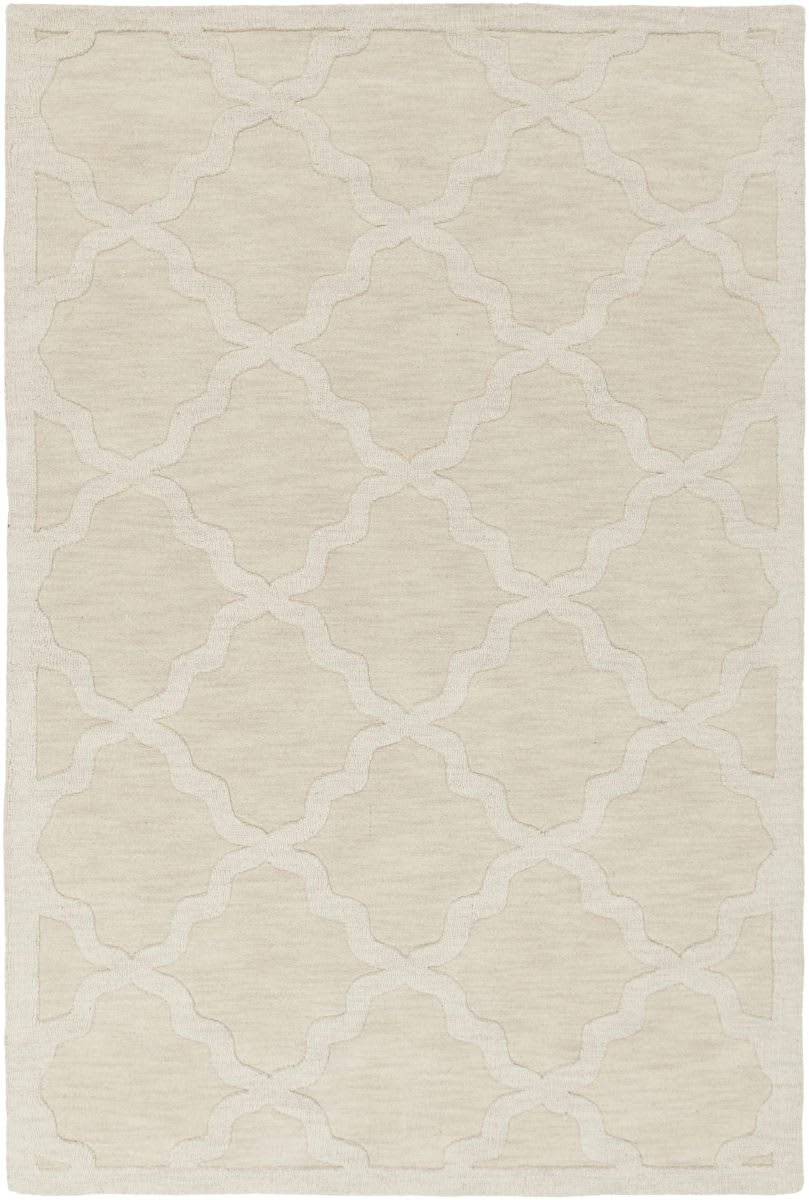 Surya Central Park Abbey Beige Rug Studio