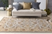 Surya Middleton Charlotte Light Blue-Gold Area Rug Clearance - 112300
