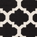 Surya York Harlow Black-White Area Rug Clearance - 112319