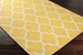 Surya Vogue Claire Yellow-White Area Rug Clearance - 112398