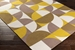 Surya Joan Thatcher Yellow - Taupe - Dark Gold Area Rug - 150165