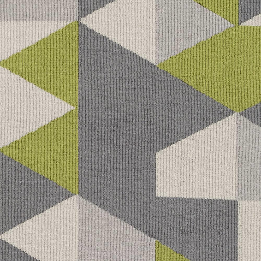 Surya Joan Fulton Lime - Gray - Light Gray Area Rug - 150155