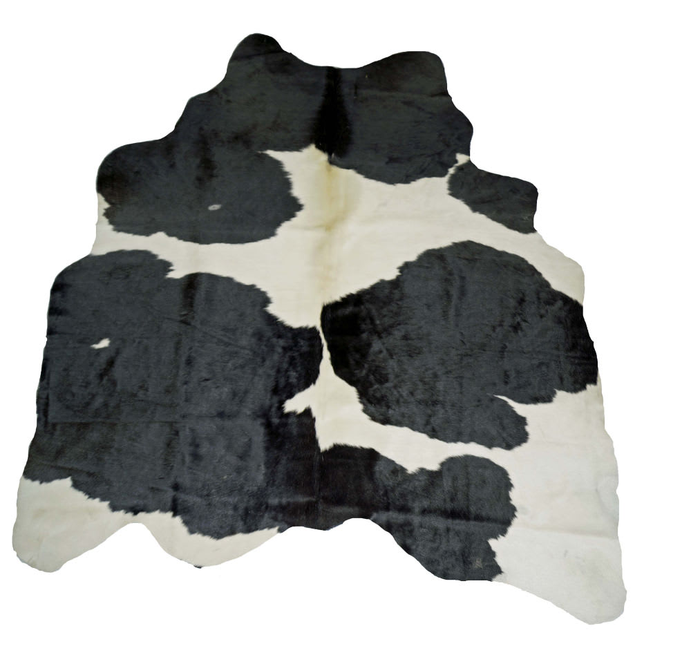 BS Trading Cowhide 147870 Black And White